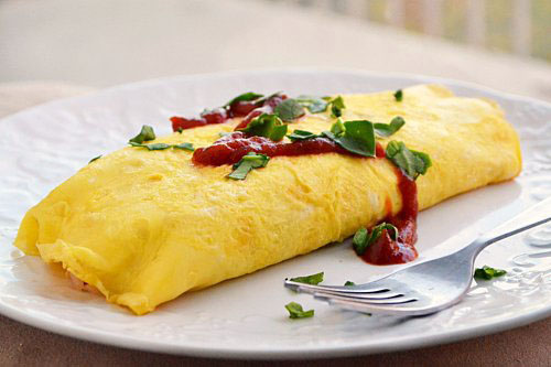 Omurice (Japanese Omelette Rice)