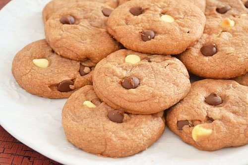 Nutella Double Chip Cookies