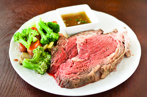 Rosemary & Thyme Crusted Prime Rib Roast