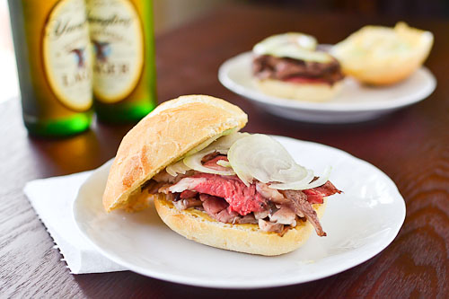 Roasted Prime Rib Sandwich