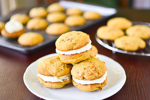 Carrot Cake Whoopie Pies