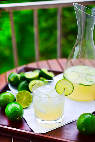 Classic Lime Margaritas