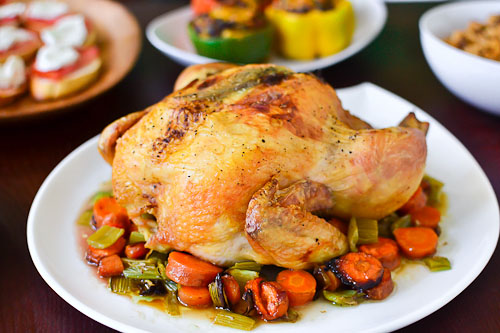 Rosemary Lemon Roast Chicken…and a Father's Day Giveaway!