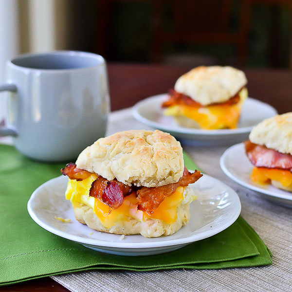 Bacon, Egg & Cheese Breakfast Sandwich