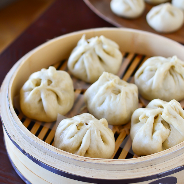 Steamed Pork Buns (Bao Zi)