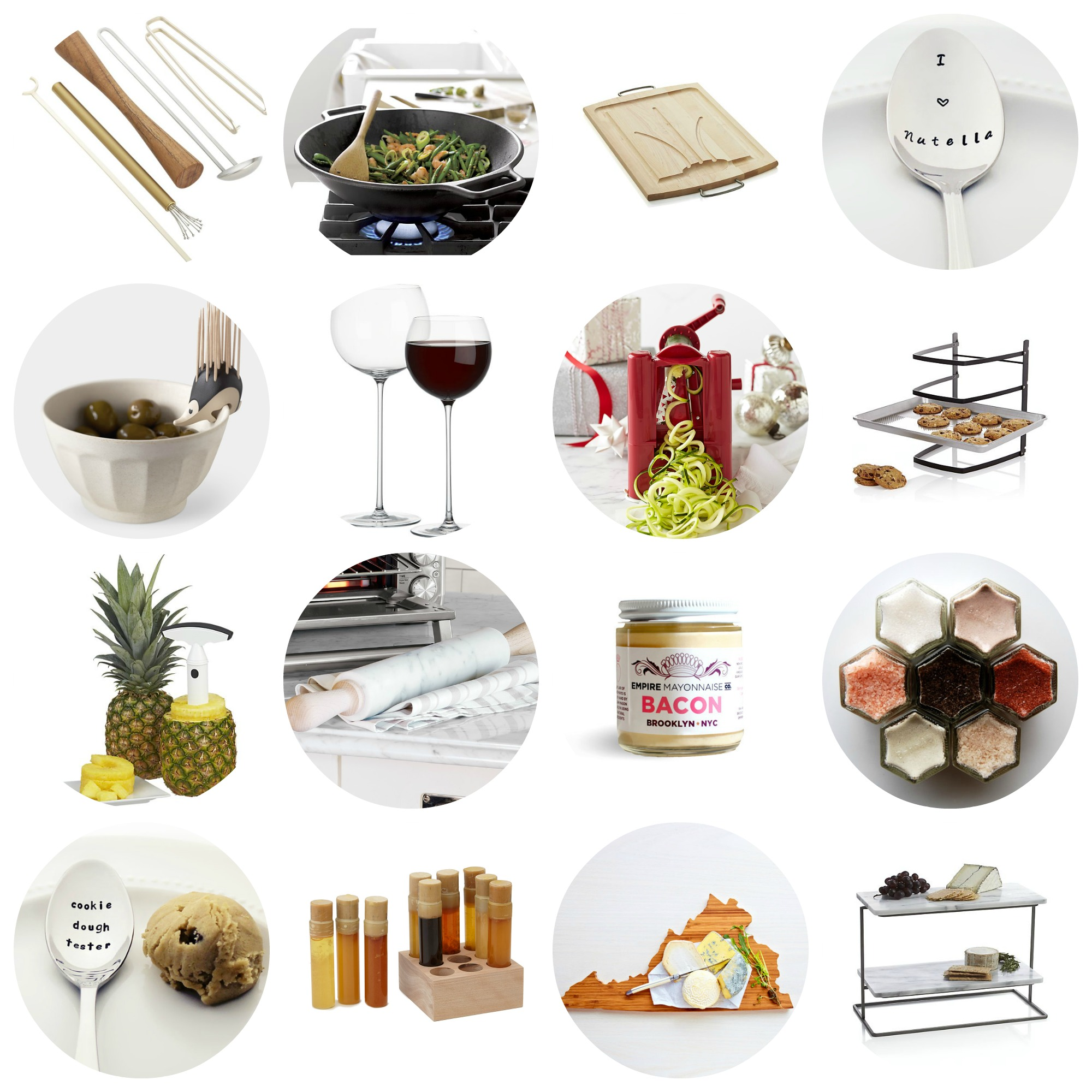 Last minute kitchen food lover s holiday gift guide Gifts for kitchen lovers