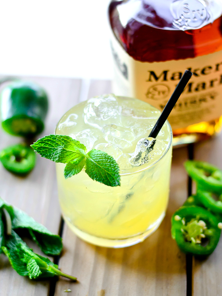 Spicy Pineapple Mint Julep